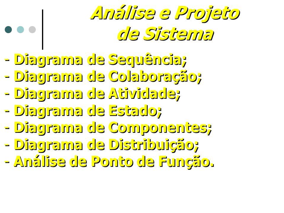 Análise e Projeto de Sistema