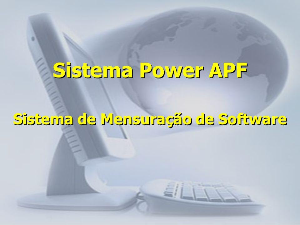 Sistema de Mensuração de Software