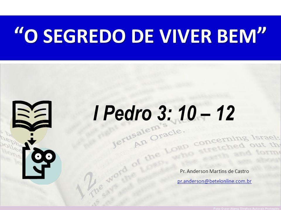 O SEGREDO DE VIVER BEM