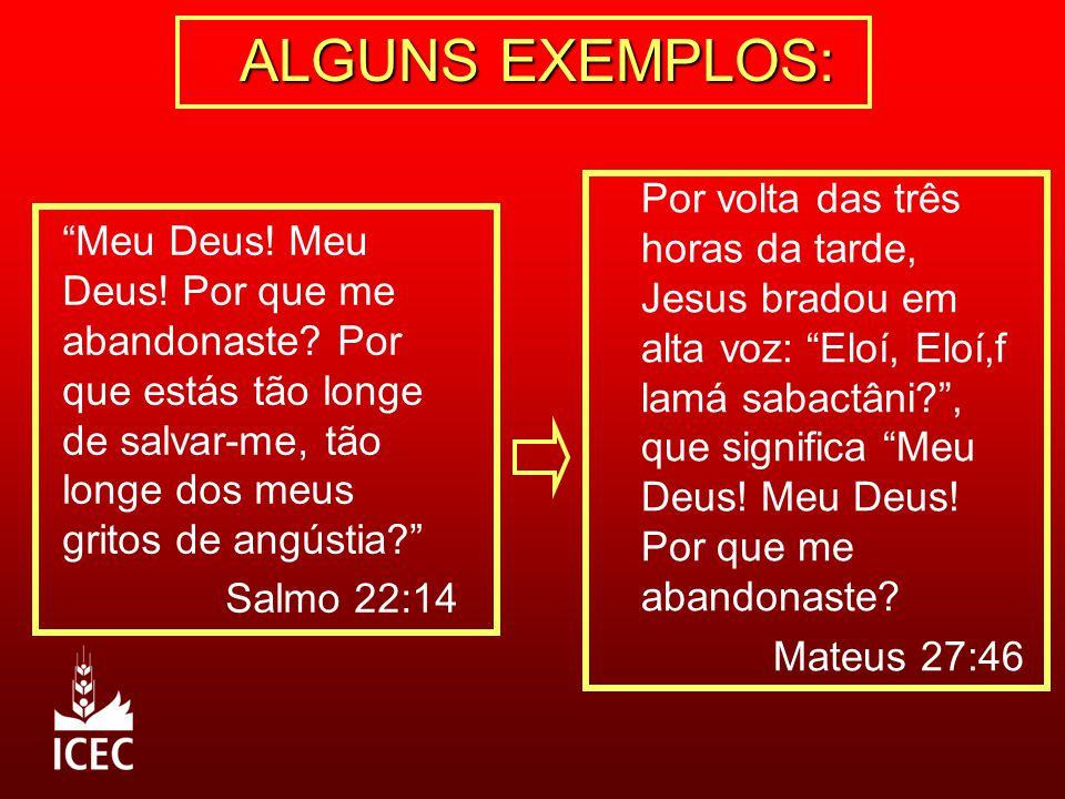 ALGUNS EXEMPLOS: