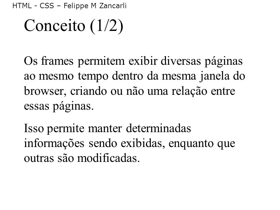 Conceito (1/2)