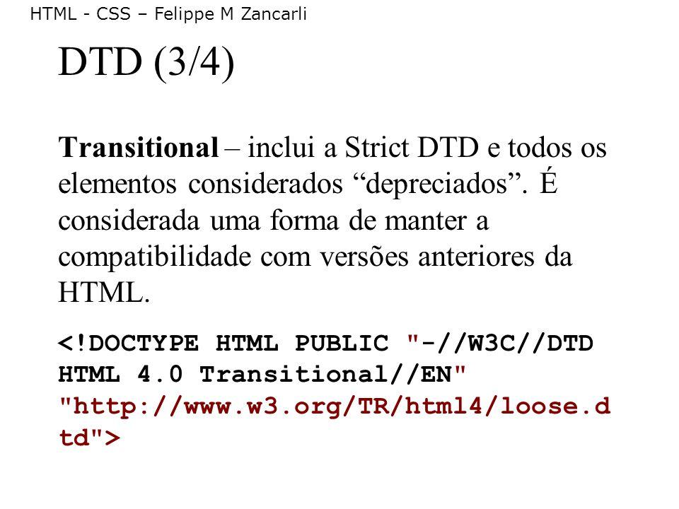 DTD (3/4)