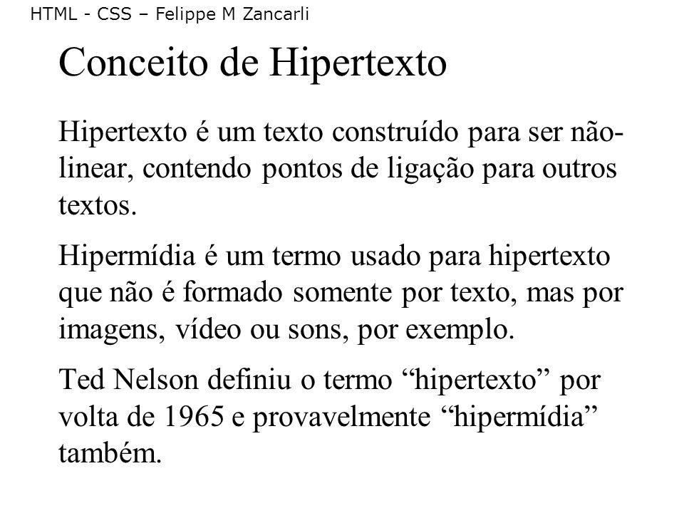 Conceito de Hipertexto