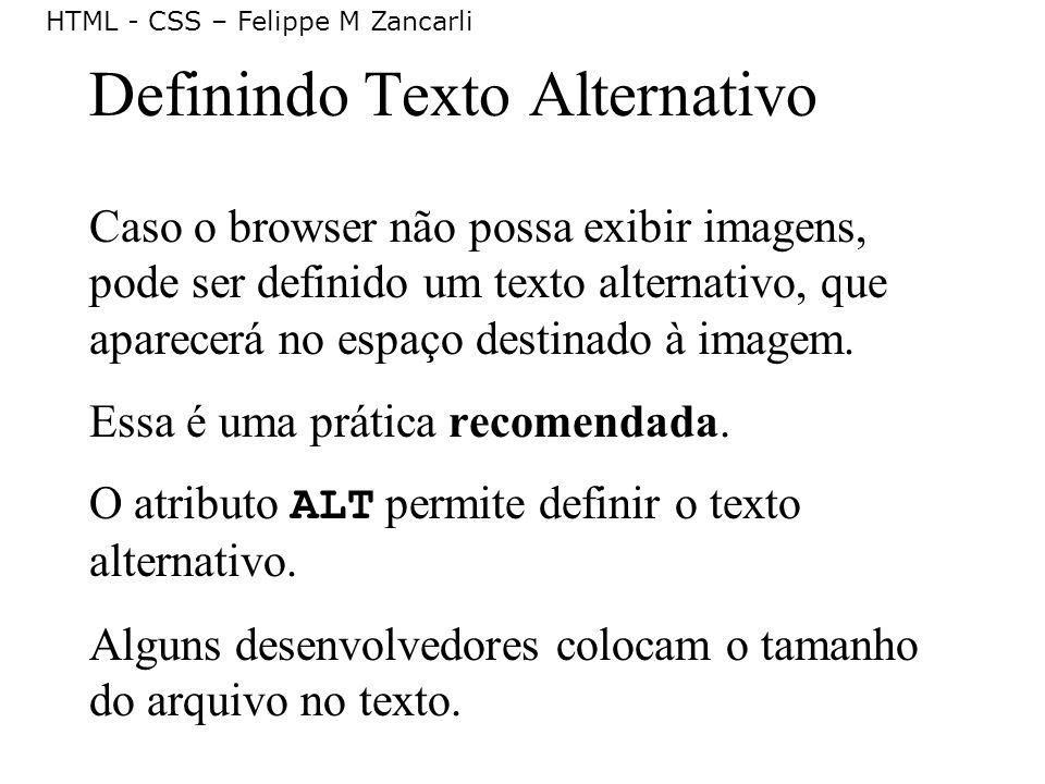 Definindo Texto Alternativo