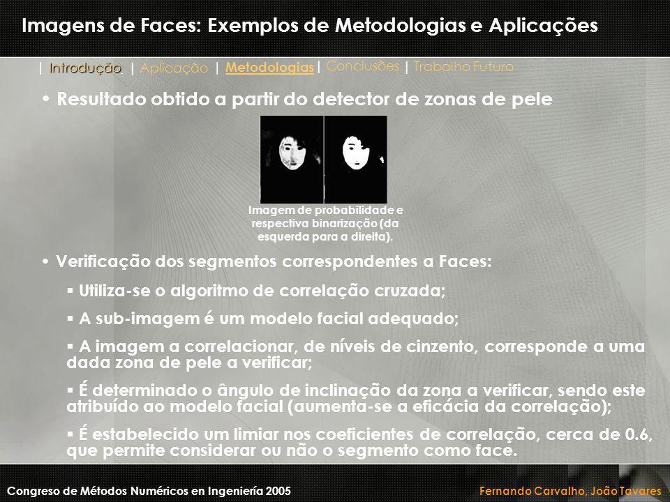 Imagens de Faces: Exemplos de Metodologias e Aplicações