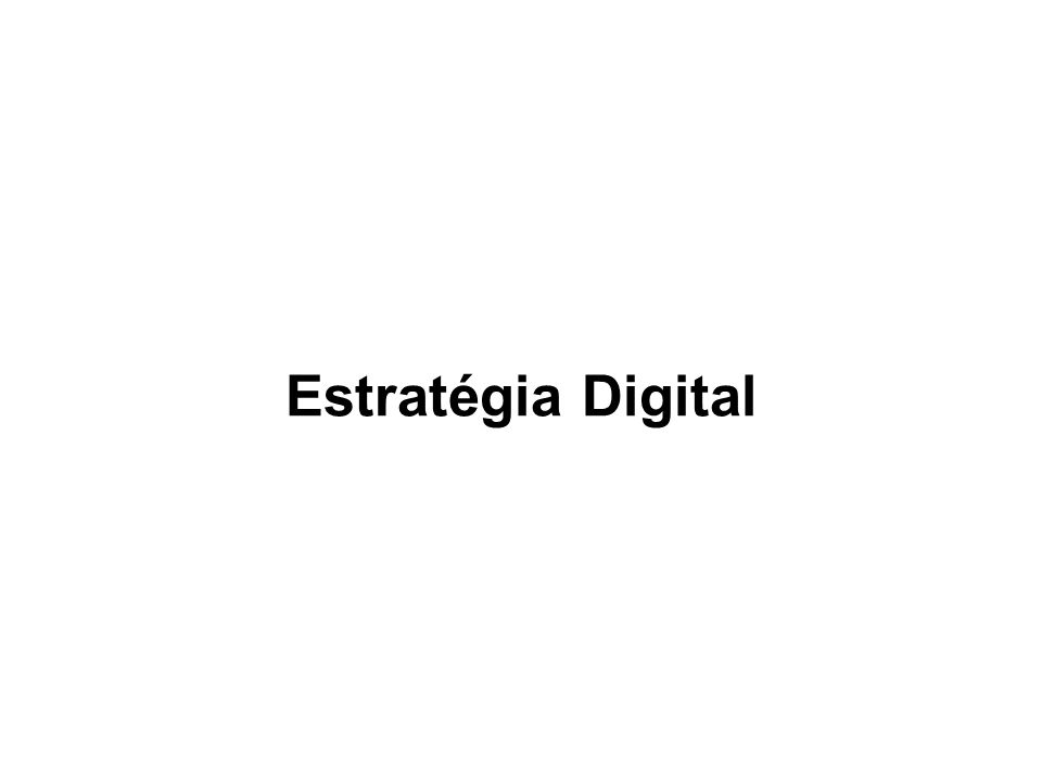 Estratégia Digital