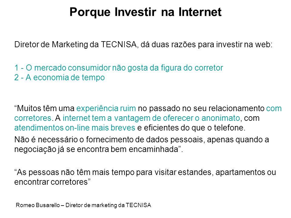 Porque Investir na Internet