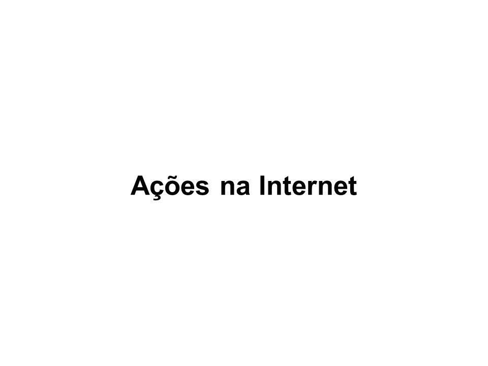 Ações na Internet