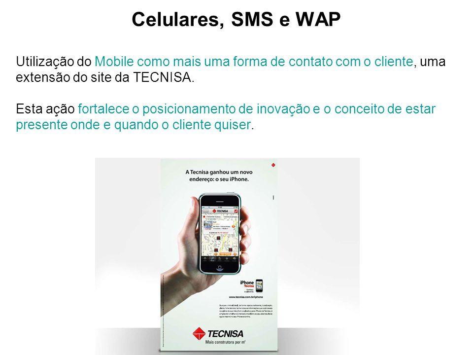 Celulares, SMS e WAP