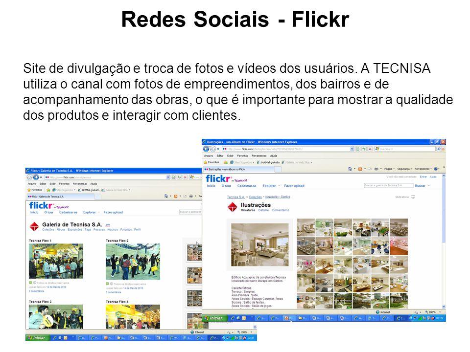 Redes Sociais - Flickr
