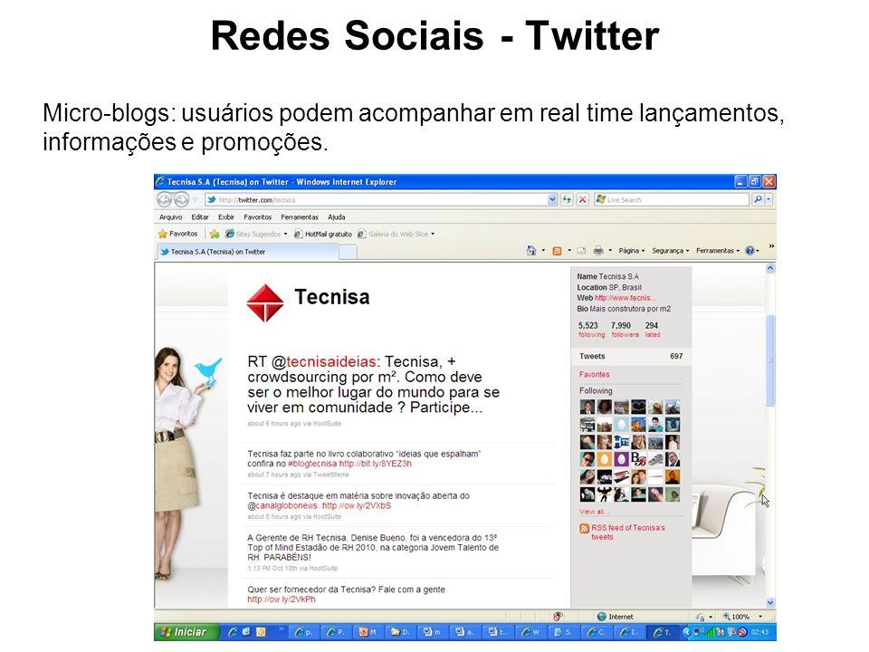 Redes Sociais - Twitter