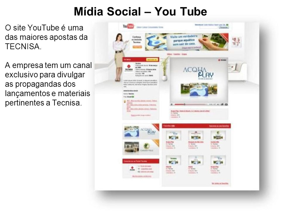 Mídia Social – You Tube
