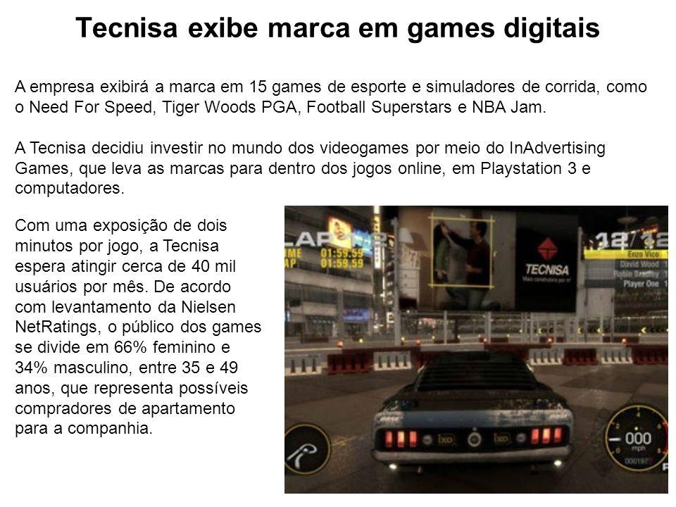 Tecnisa exibe marca em games digitais