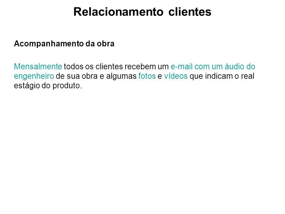 Relacionamento clientes