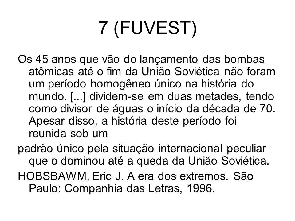 7 (FUVEST)