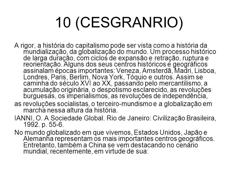 10 (CESGRANRIO)