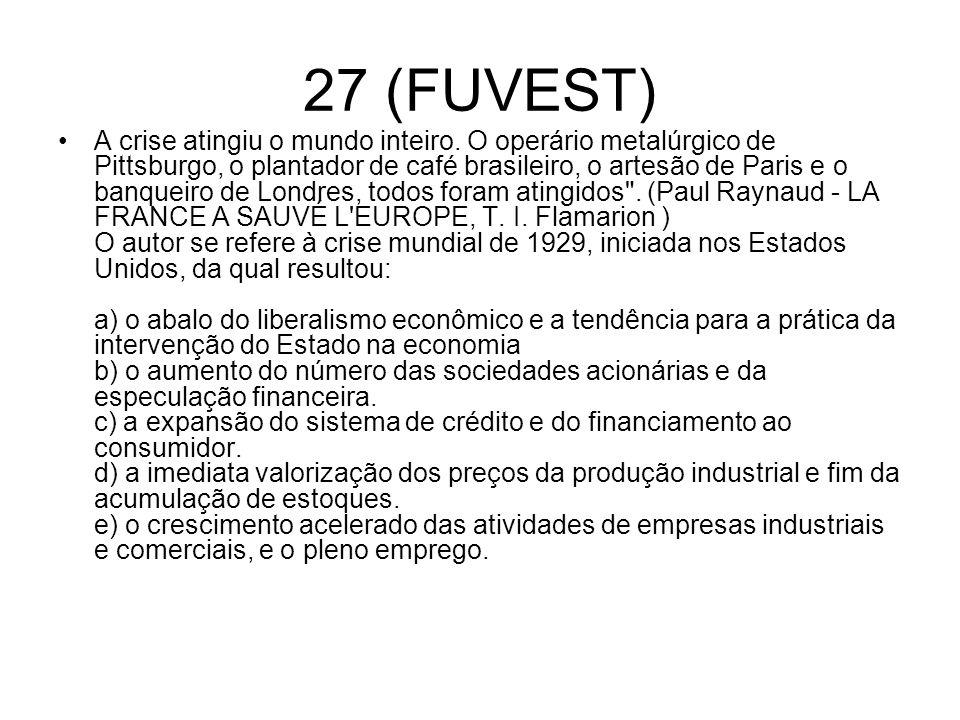 27 (FUVEST)