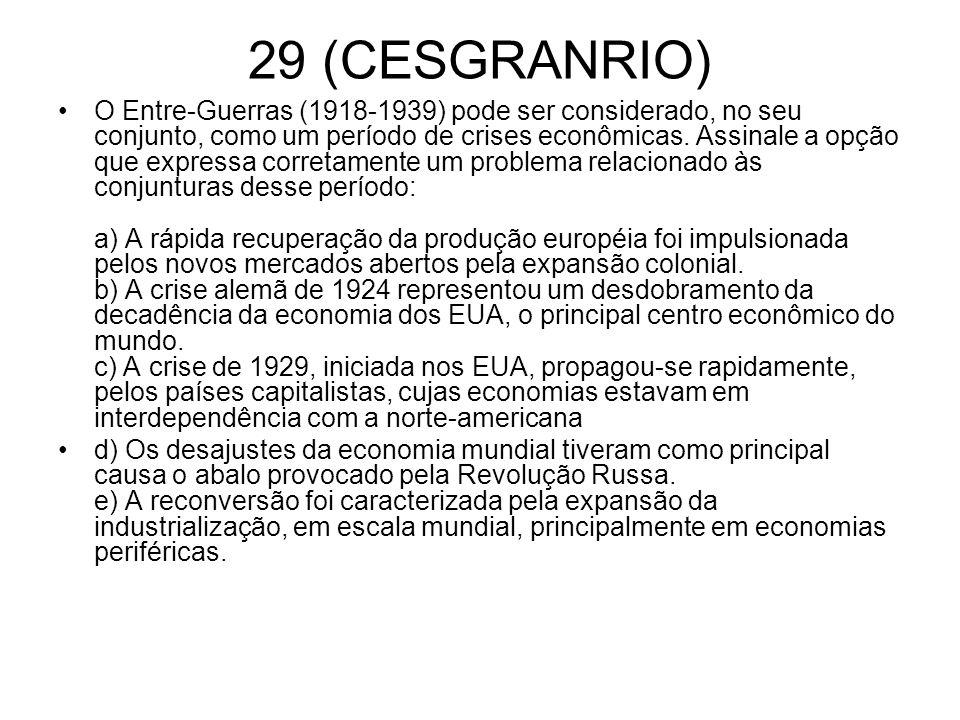 29 (CESGRANRIO)