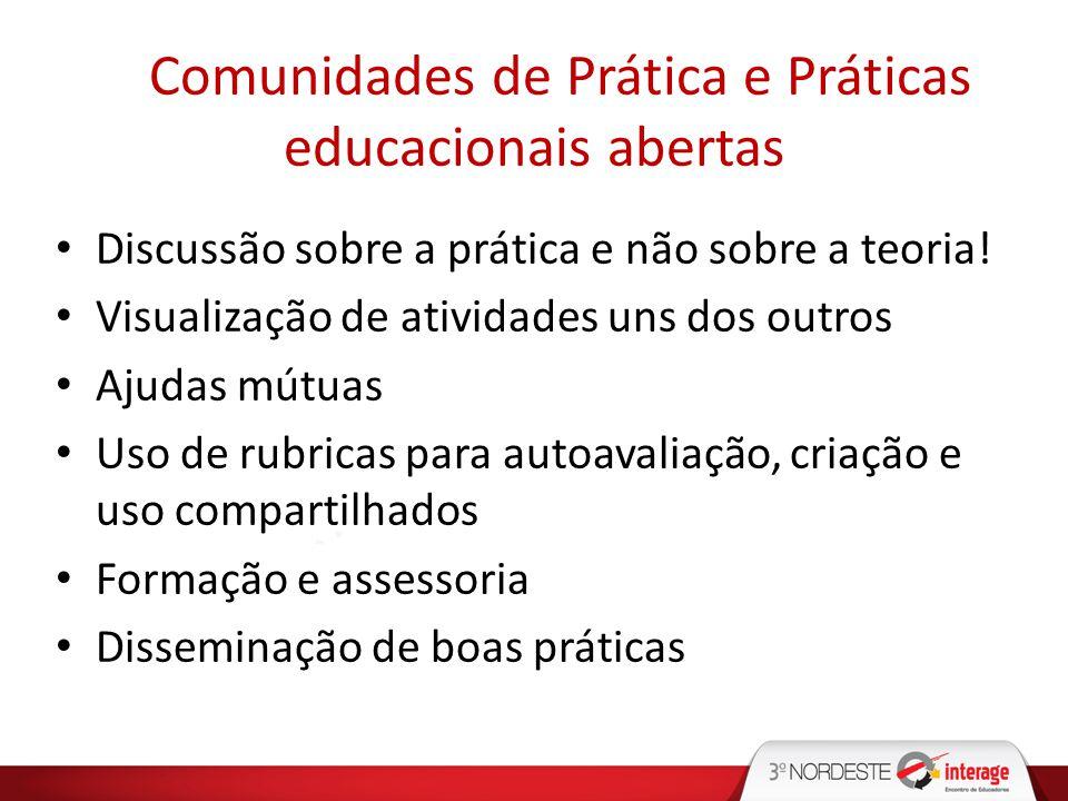 Comunidades de Prática e Práticas educacionais abertas
