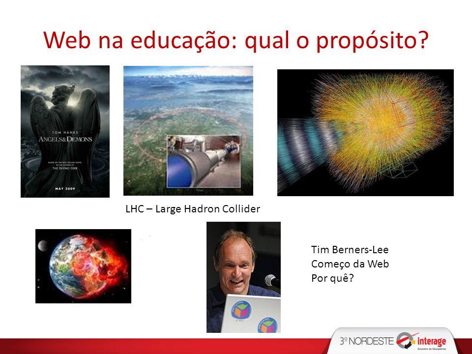 Web na educação: qual o propósito
