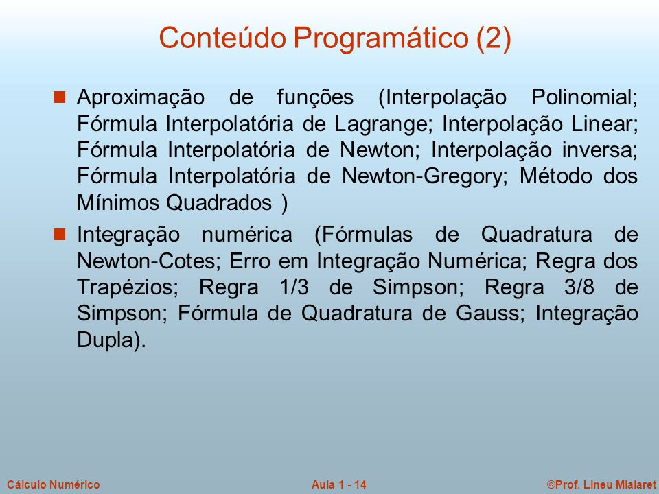 Conteúdo Programático (2)