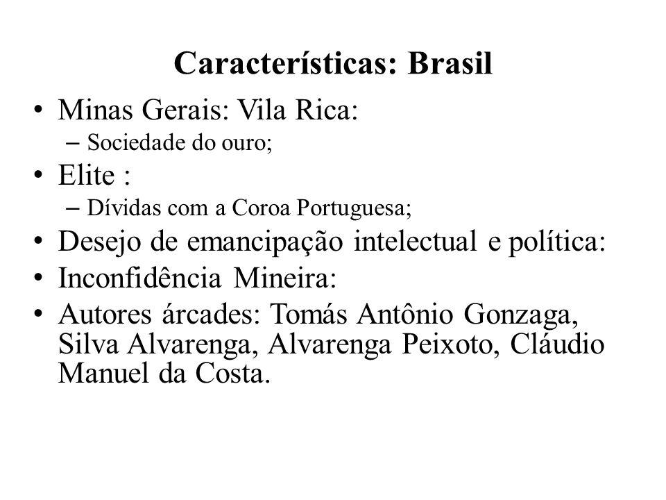 Características: Brasil