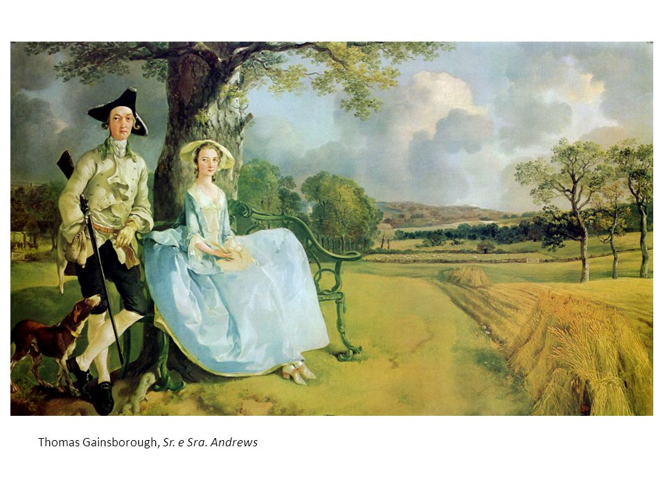 Thomas Gainsborough, Sr. e Sra. Andrews