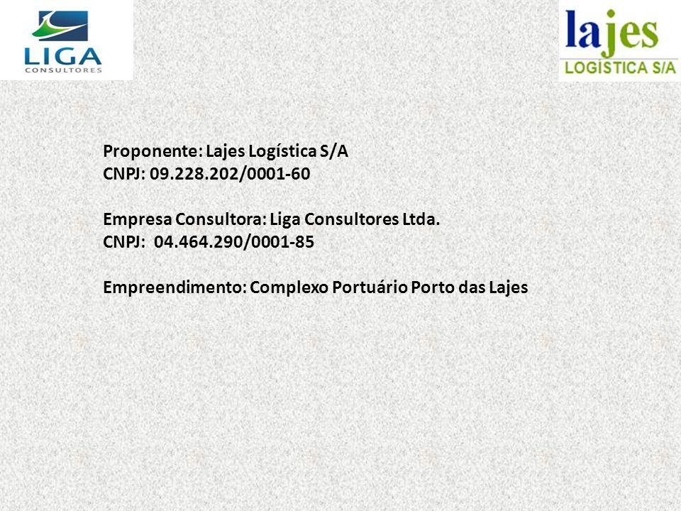 Proponente: Lajes Logística S/A CNPJ: 09. 228