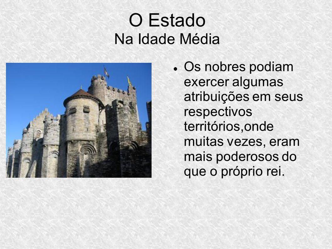 O Estado Na Idade Média