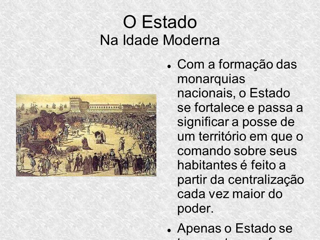 O Estado Na Idade Moderna