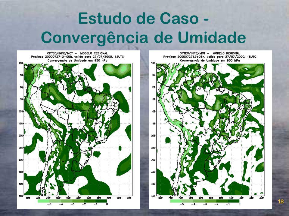 Estudo de Caso - Convergência de Umidade