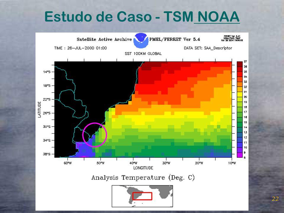 Estudo de Caso - TSM NOAA
