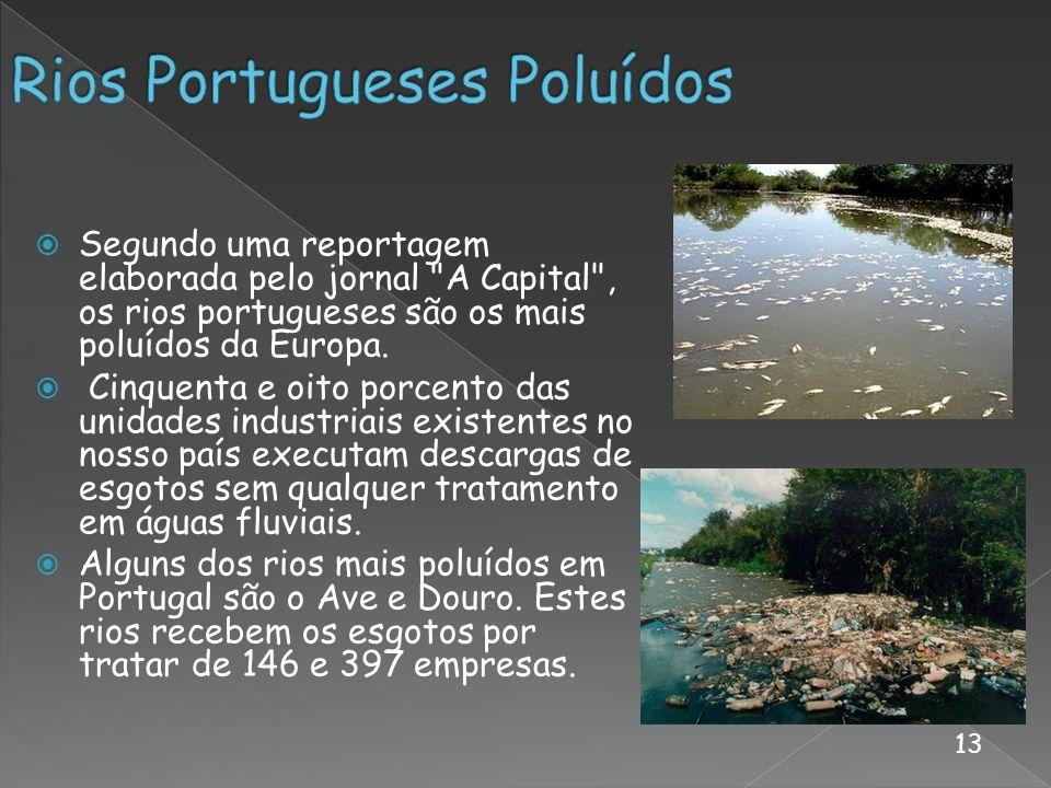 Rios Portugueses Poluídos