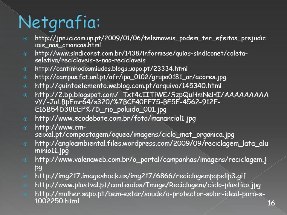 Netgrafia: 16 http://quintoelemento.weblog.com.pt/arquivo/145340.html