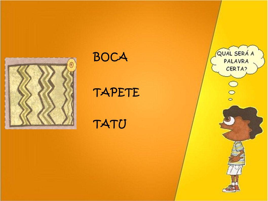BOCA TAPETE TATU 25