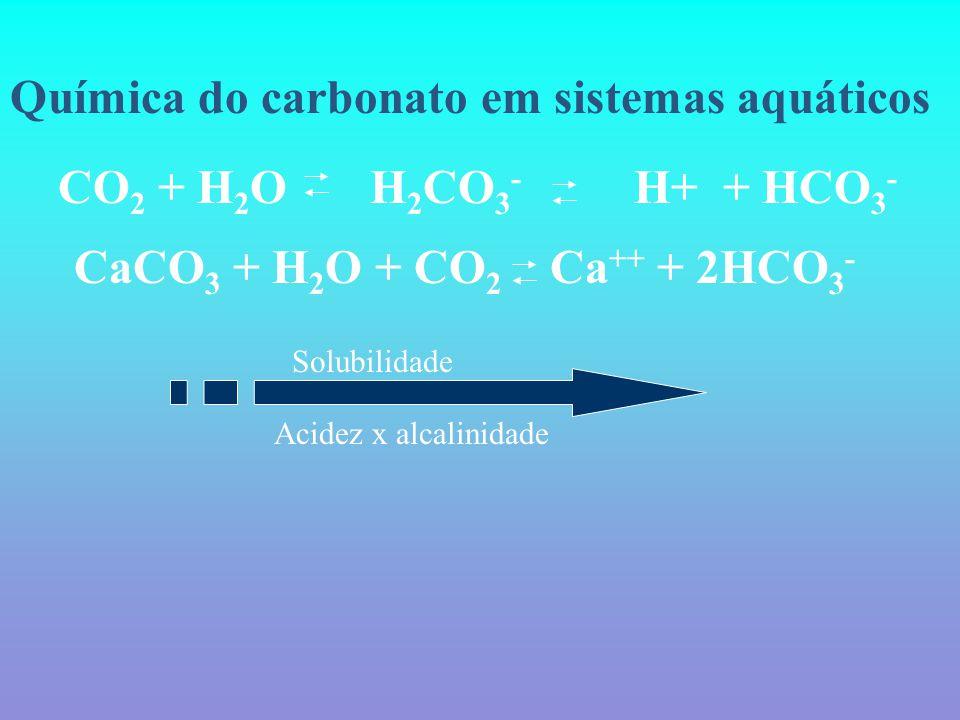 Química do carbonato em sistemas aquáticos