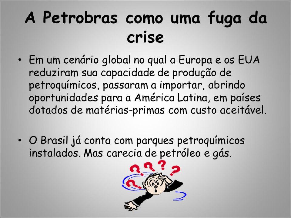 A Petrobras como uma fuga da crise