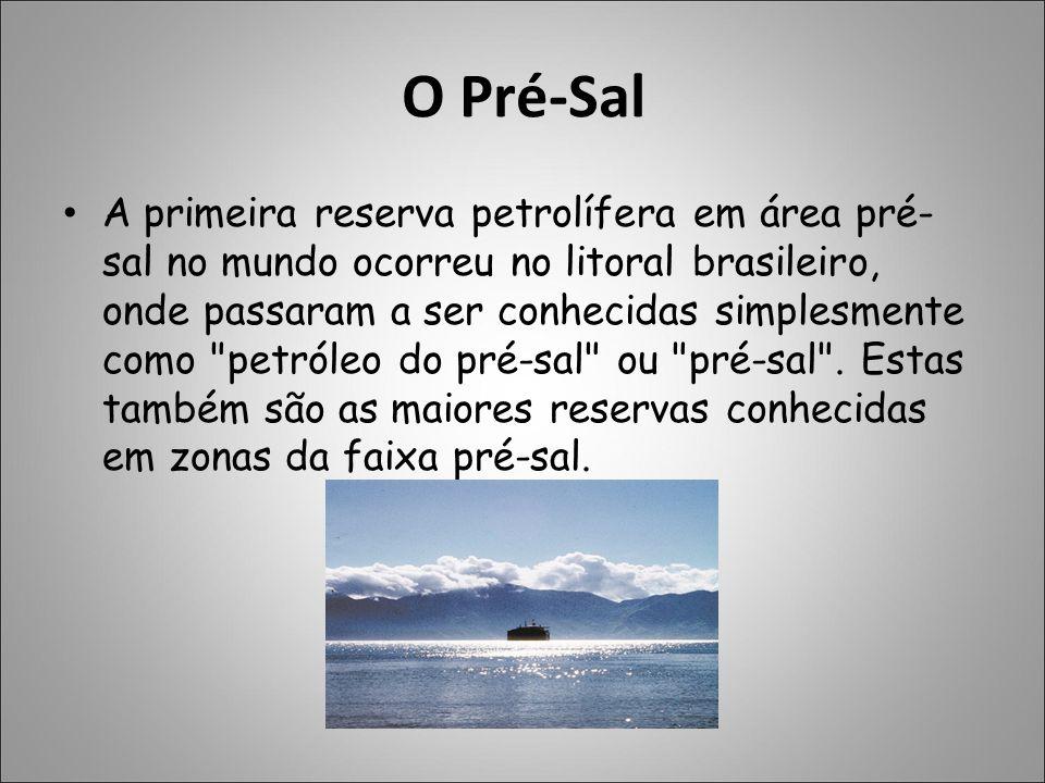 O Pré-Sal