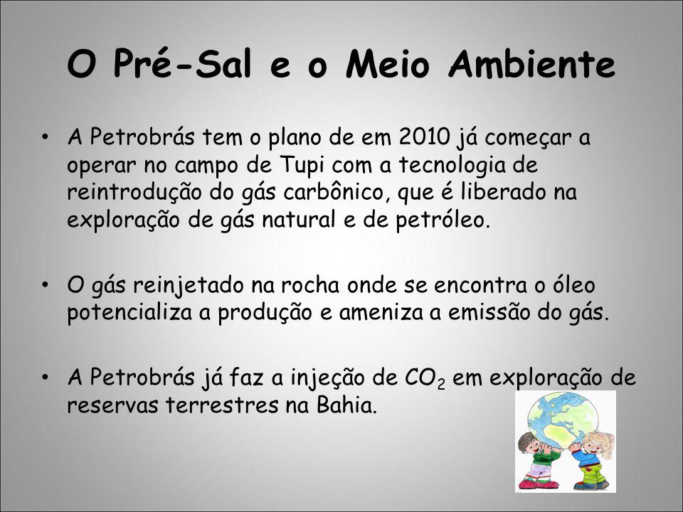 O Pré-Sal e o Meio Ambiente