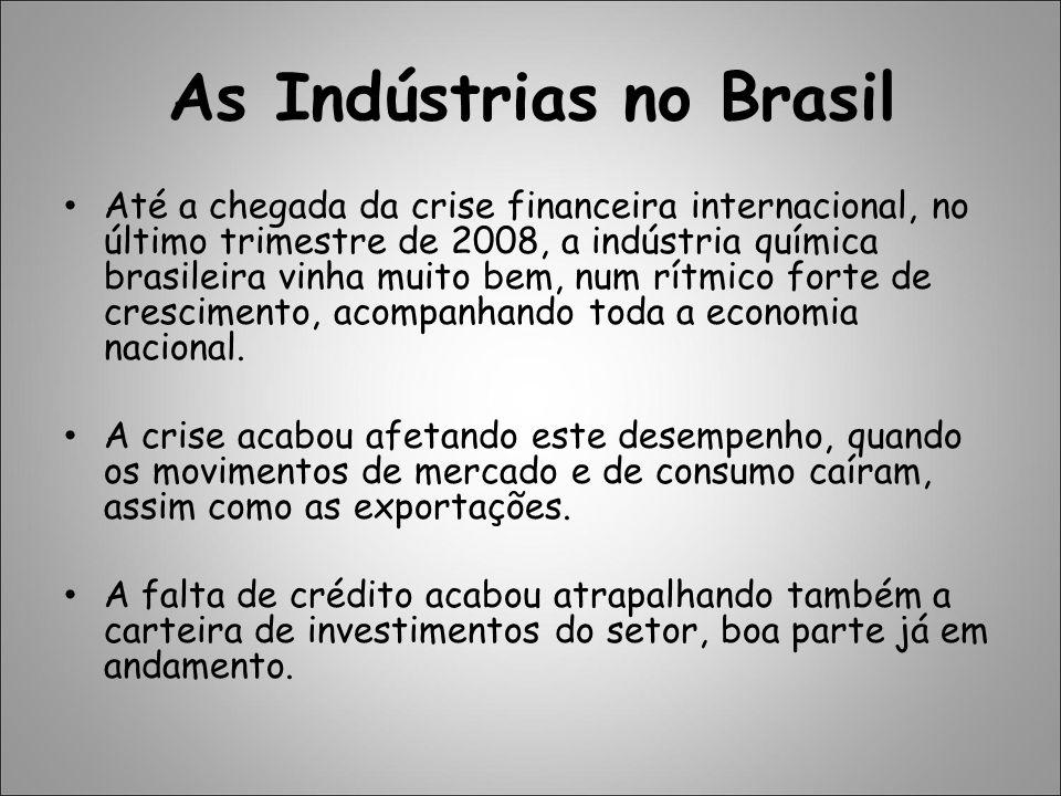 As Indústrias no Brasil