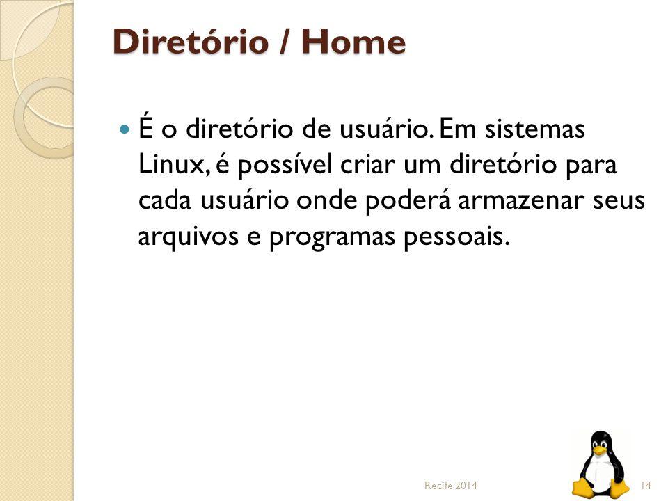 Diretório / Home
