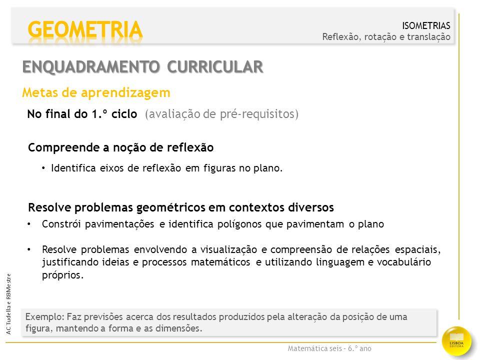 Enquadramento Curricular