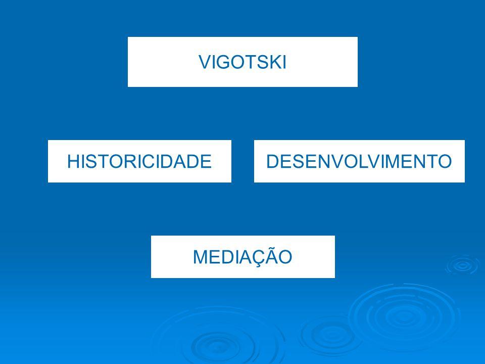 VIGOTSKI HISTORICIDADE DESENVOLVIMENTO MEDIAÇÃO