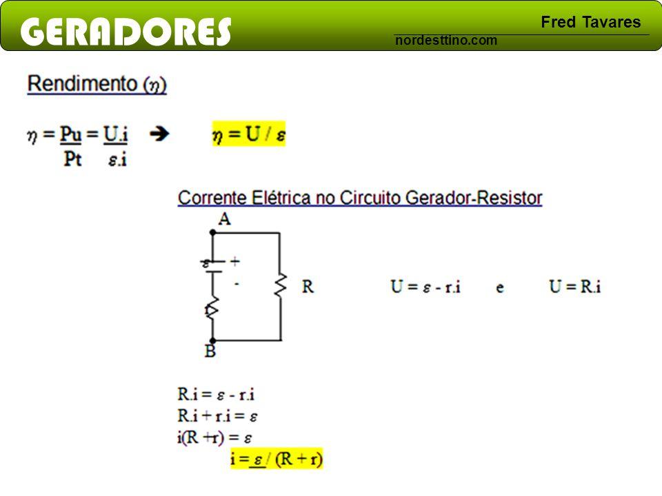 GERADORES Fred Tavares nordesttino.com