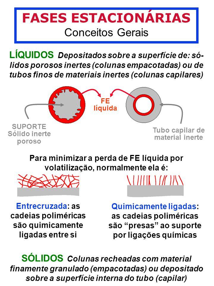 FASES ESTACIONÁRIAS Conceitos Gerais