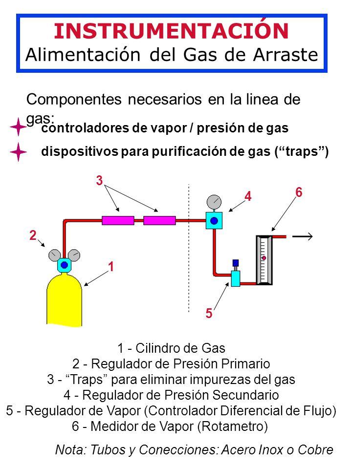INSTRUMENTACIÓN Alimentación del Gas de Arraste