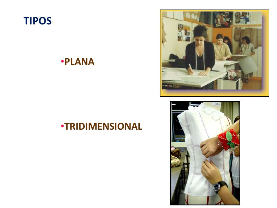 TIPOS PLANA TRIDIMENSIONAL