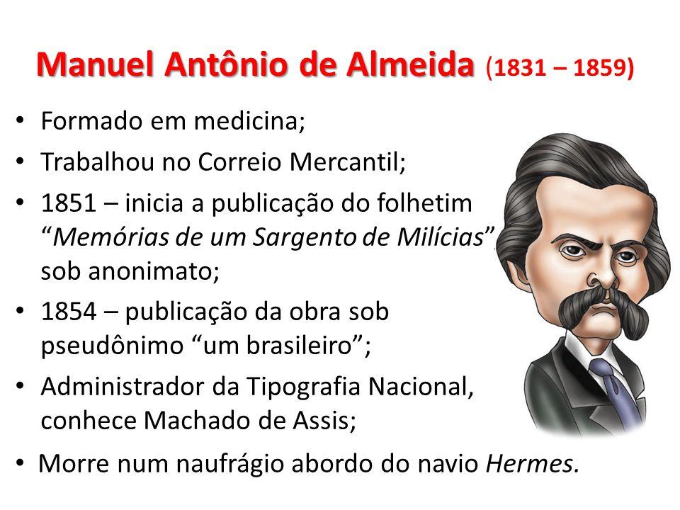 Manuel Antônio de Almeida (1831 – 1859)