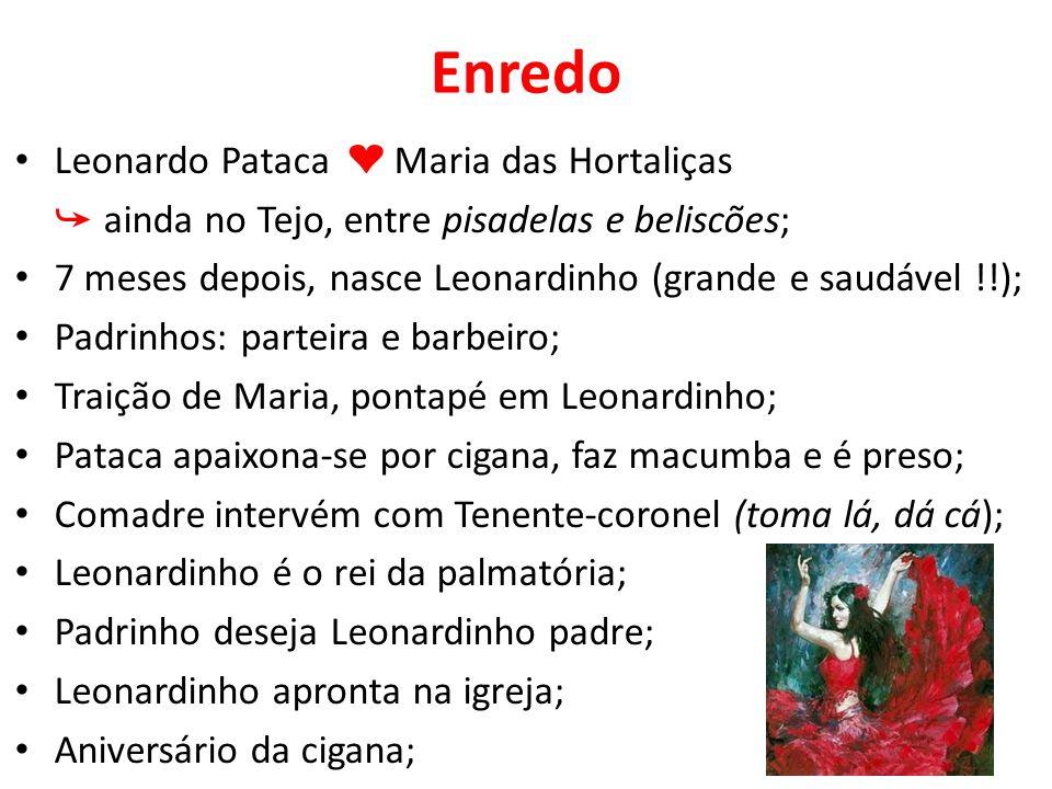 Enredo Leonardo Pataca ❤ Maria das Hortaliças