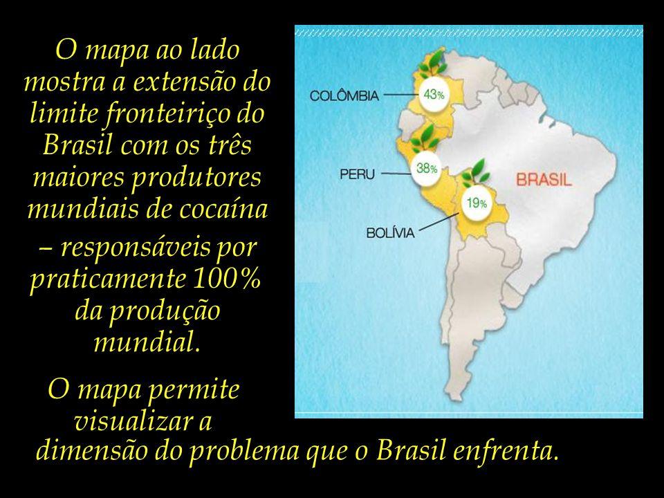 – responsáveis por praticamente 100% da produção mundial.